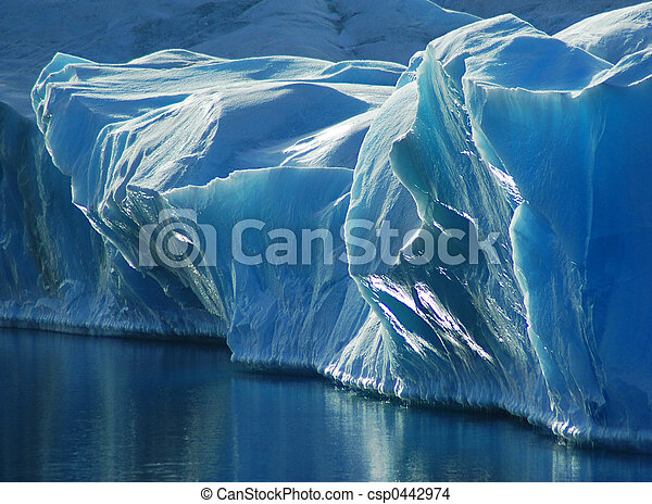 Blue Ice - csp0442974