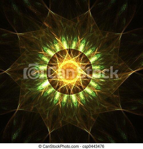 Star mandala - csp0443476