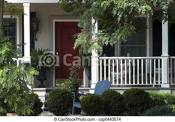 Rural Home - csp0443574