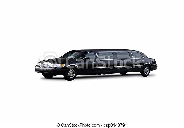 noir, limousine - csp0443791