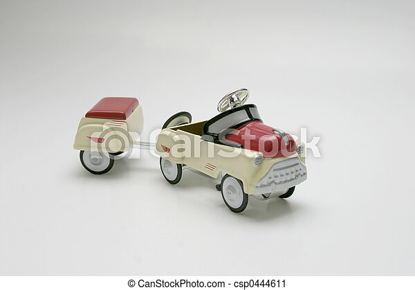 Pedal Car - Trailer - csp0444611