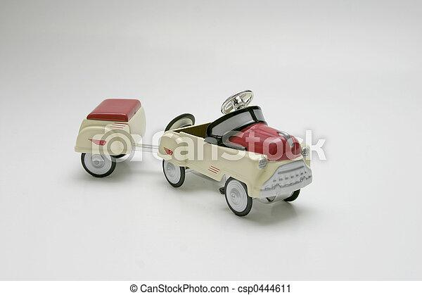 Pedal Car - Trailer - csp0444611