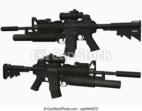 M4 Weapon - csp0444972