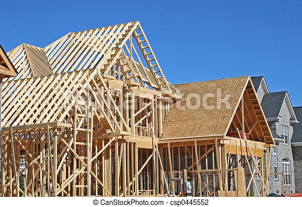 casa, construção - csp0445552