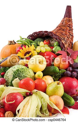 otoño,  cornucopia - csp0446764