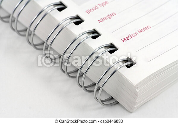 medical notes - csp0446830
