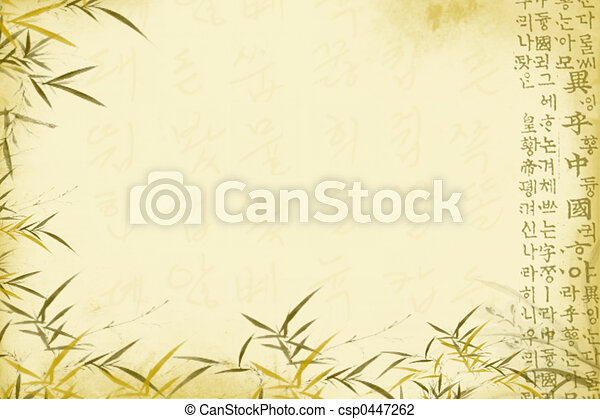 Oriental background - csp0447262