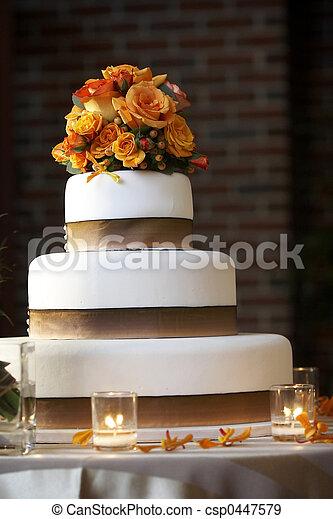 torta, matrimonio - csp0447579