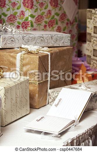 wedding gifts - csp0447684