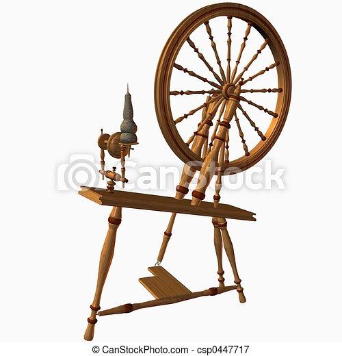 Spinning wheel Illustrations and Stock Art. 1,043 Spinning wheel ...