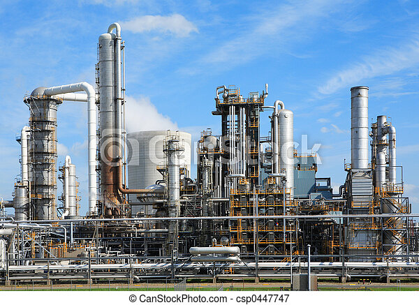Chemical factory - csp0447747