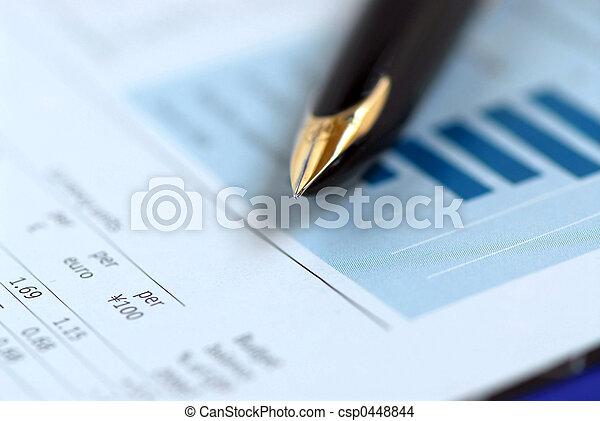 Pen finance chart - csp0448844