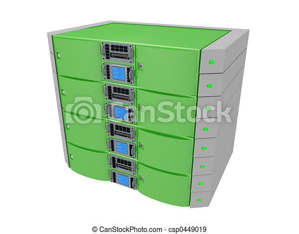 Twin Server - Green - csp0449019