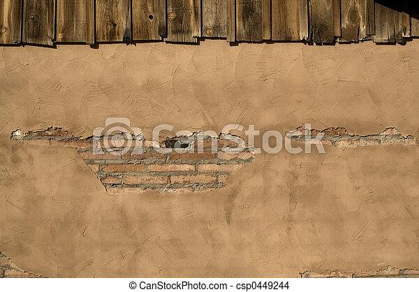 Rustic Stucco  - csp0449244