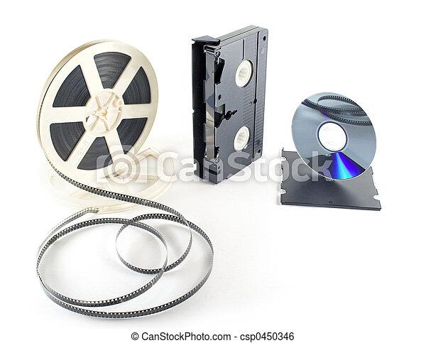 films format VHS DVD - csp0450346