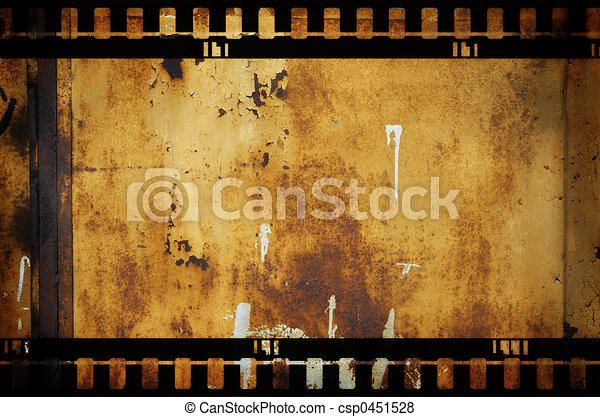 warm vintage background with dark border(great for your design) - csp0451528