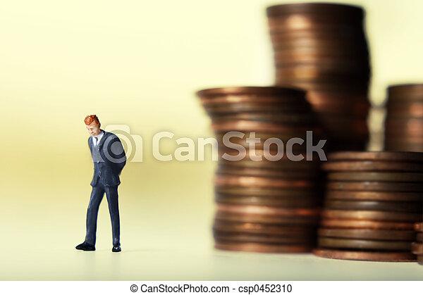 Wealthy businessmen - csp0452310