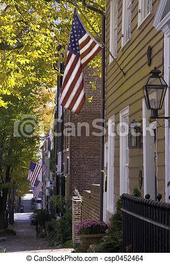 Patriotic Prince Street - csp0452464