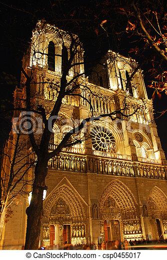 Notre Dame de Paris - csp0455017