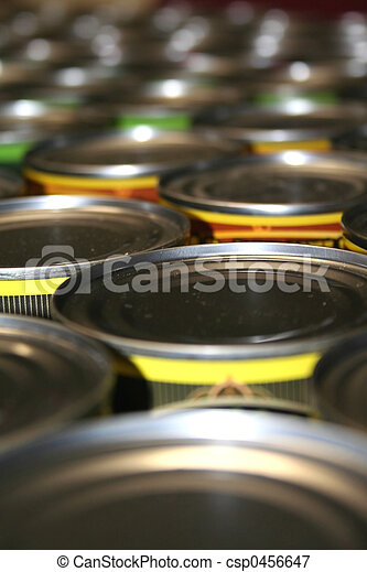 Food cans  - csp0456647