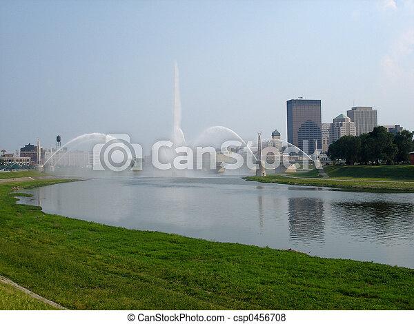 Dayton Fountains - csp0456708