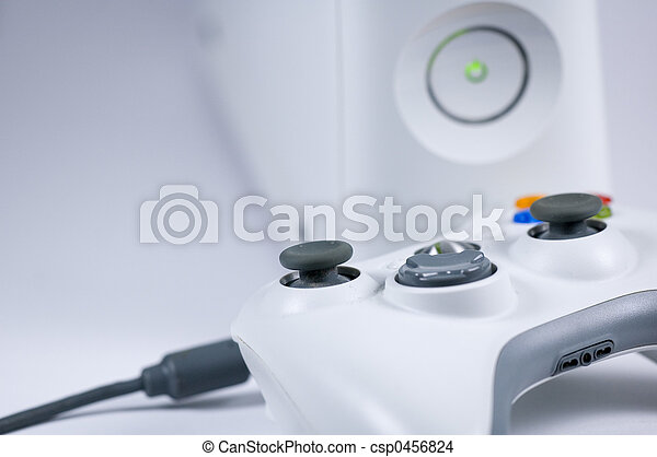 console and gamepad - csp0456824