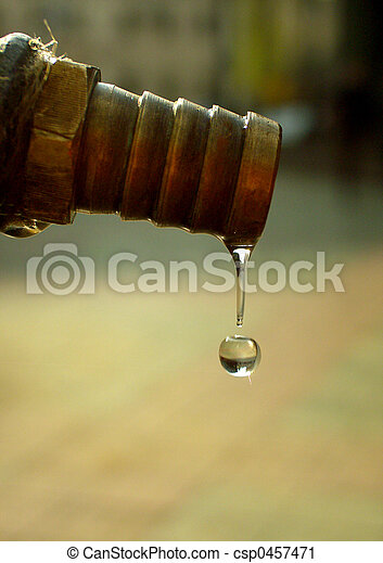 Transparent drop
