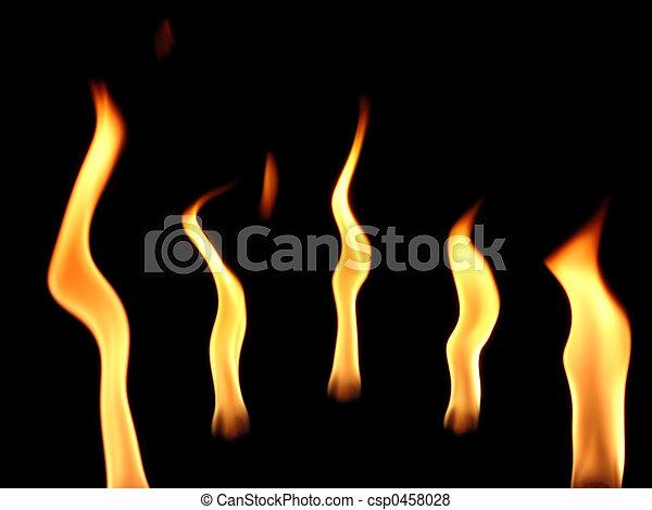 Flame Dance - csp0458028