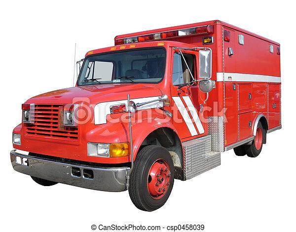 EMS Fire Truck - csp0458039