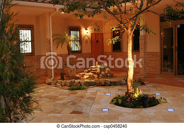 Courtyard III - csp0458240