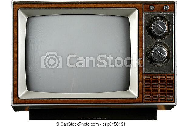 Vintage Television - csp0458431