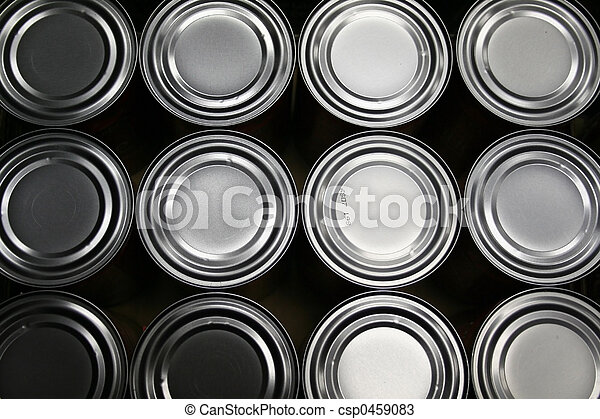 food cans - csp0459083