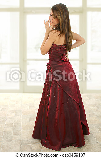 Beatiful Teen in Formal - csp0459107