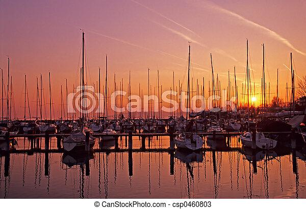 Segelboot - csp0460803