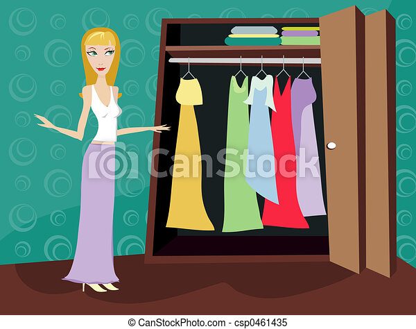 Clip Art Closet Clipart closet illustrations and clipart 7572 royalty free of clothes blonde woman looking through her
