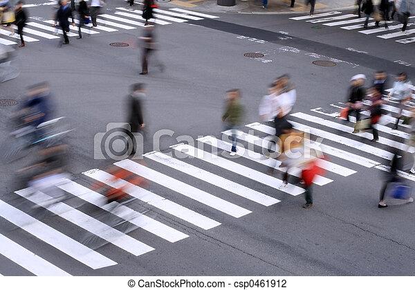 Pedestrian crossing - csp0461912