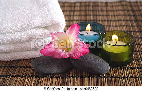 Aromatic Spa Objects - csp0463522