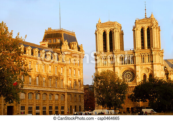Notre Dame de Paris - csp0464665