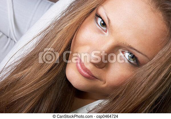 beautiful eyes gaze - csp0464724