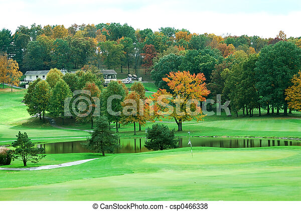 Golf Course - csp0466338