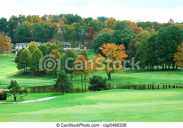 Golf Course - csp0466338