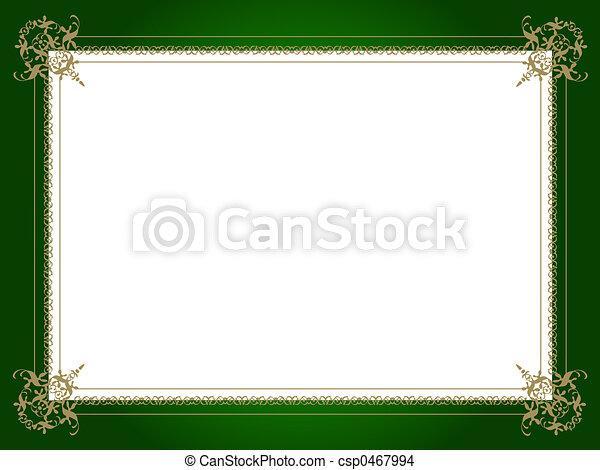 Golden border - csp0467994