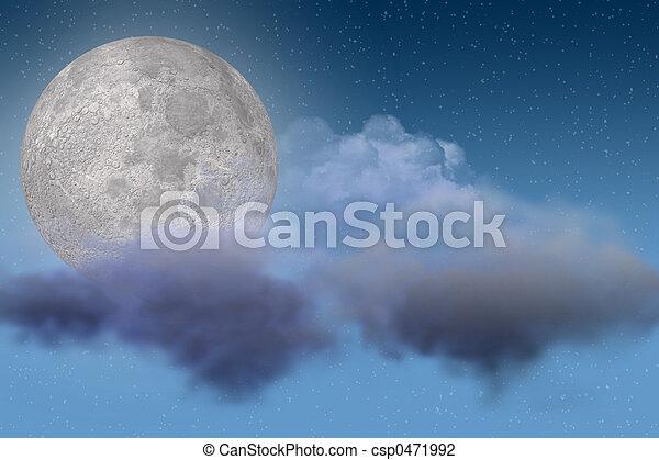 Moon - csp0471992