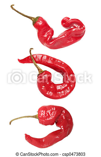 Knobbly Chili Peppers - csp0473803