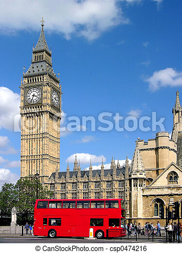 London Big Ben - csp0474216
