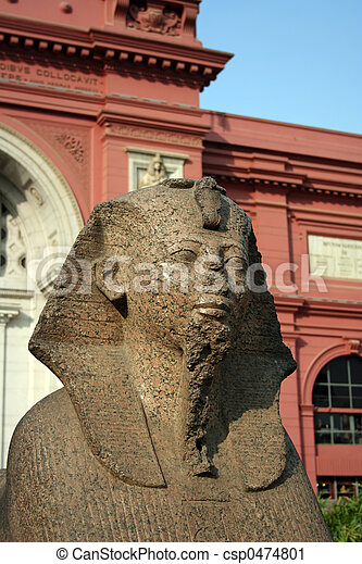 The Egyptian Museum - Cairo - csp0474801
