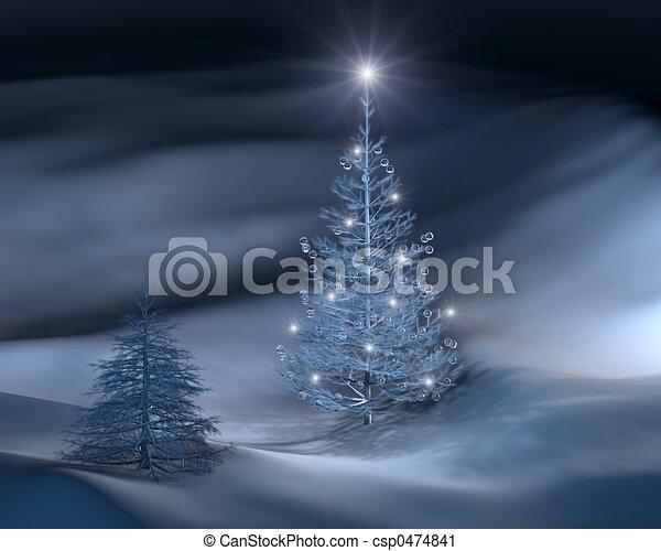 christmas tree III - csp0474841