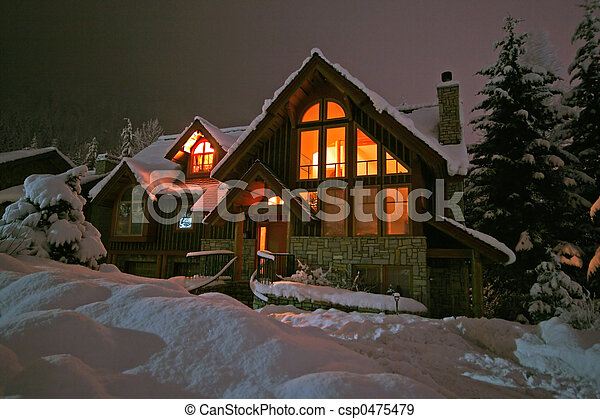hiver, retraite - csp0475479