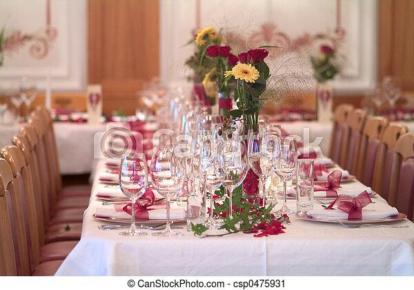 table decoration - csp0475931