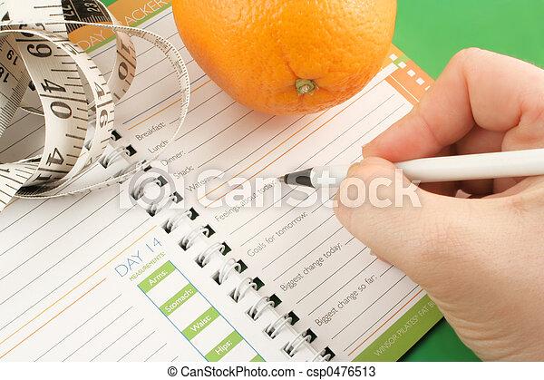 diet journal - csp0476513